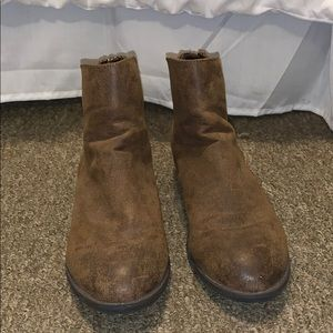 Brown Ankle boots/ booties